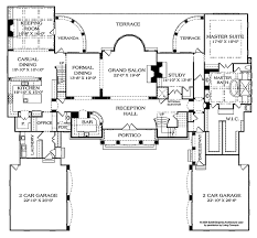 european style house plan 5 beds 5 baths 8126 sq ft plan 453
