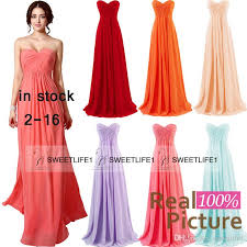 2015 in stock coral bridesmaid dresses blush mint lilac red orange
