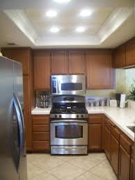 Led Kitchen Lighting Ideas Kitchen Kitchen Light Fixture In Awesome Galley Kitchen Lighting