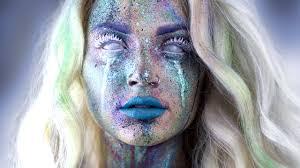 Beauty Garde Avant Garde Splatter Makeup Tutorial Youtube