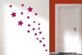 Removable Various Color Stars Decorative Wall Stickers Vinyl Wall - Cheap wall decals for kids rooms