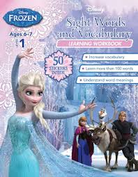 store disney frozen sight words vocabulary learning