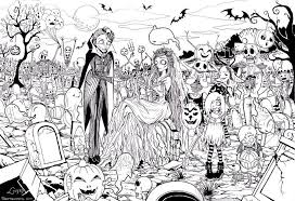 Halloween Coloring Page Printables Popsugar Smart Living Color Page