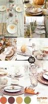 fall autumn wedding table setting ideas wedding table settings