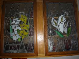 Stained Glass Backsplash by Stained Glass Cupboard Doors Which Countertops And Backsplash