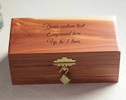 engravable box engraved wood box etsy