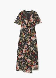 mango robes robe fleurie mango ces 20 robes fleuries font vraiment envie