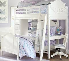 girls loft bed with a desk and vanity chelsea vanity pbteen in loft bed plans 7 gpsolutionsusa com