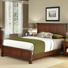 the aspen collection rustic cherry queen bed by home styles free