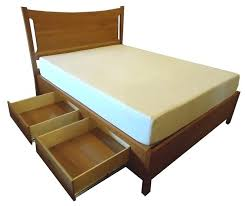 Queen Size Platform Bed Frame Plans by Full Platform Bed Frame U2013 Tappy Co