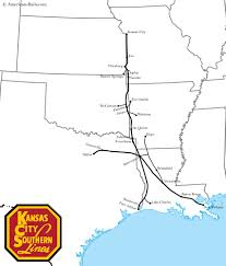 Train Map Of Boston by The Kansas City Southern Railway This Map Of The Kcs Depicts The