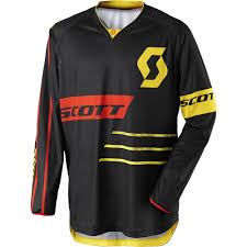 motocross bike gear scott 2017 mx new 350 dirt black yellow jersey pant dirt bike