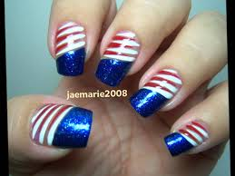 4th of july nail designs ideas youtube