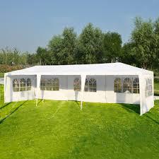 Patio Tent Gazebo Costway Rakuten Costway 10 X30 Wedding Outdoor Patio