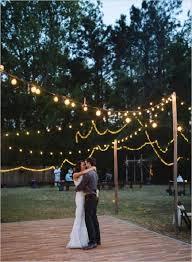 backyard wedding decorations hip backyard wedding decor deer pearl flowers brogniez wedding