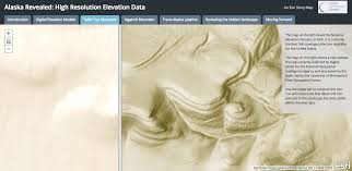 Elevation Map Of The United States by Using New Elevation Data To Explore The Arctic Whitehouse Gov