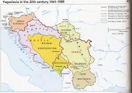 Yugoslavia Map Understanding The Yugoslav War From The 1990s In Belgrade Serbia
