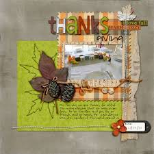 gratitude quotes and word for your thanksgiving scrapbook layouts