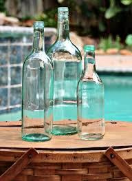 Wine Bottle Home Decor Ballard Designs Wine Bottle Knock Off Hometalk