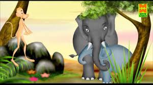 baby elephant u0026 monkey kinginipoocha malayalam animation hd