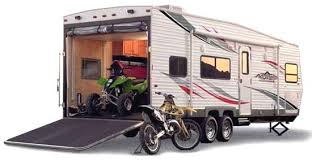 Travel Trailer With Garage Roaming Times Rv News And Overviews