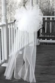 Pew Decorations For Weddings Tulle Pew Bows Church Wedding Decorations Svadba Pinterest