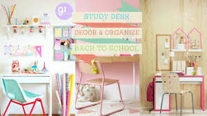 Kid Study Desk How To Decor And Organize Study Desk