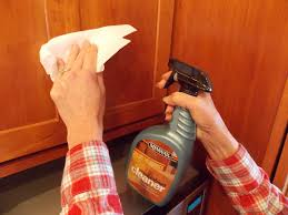 cleaning grease off kitchen cabinets how to remove sticky residue from wood cabinets