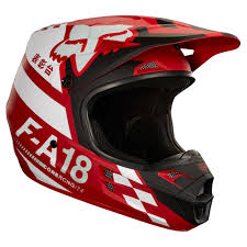 ufo motocross helmet 2018 fox racing v1 sayak helmet red sixstar racing