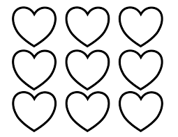 file valentines hearts alphabet blank3 coloring pages