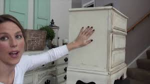 can i use chalk paint to paint my kitchen cabinets pretty distressed sloan chalk paint wax tutorial heavy distressing part 3