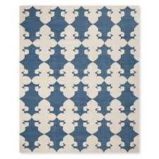 Modern Rugs Chicago Medallion Flatweave Rug 9x12 Blue Flatweave Rugs And Products