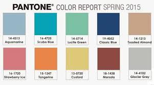 pantone color report spring 2015 pantone colour trends