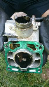 black oil coming out of boot seal kx125 tech help race shop
