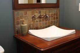 Bathroom Sink Ideas With Awesome Ideas Bathroom Sink Backsplash - Bathroom sink backsplash