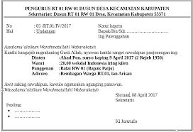 cara membuat undangan bahasa jawa surat undangan rapat rt dalam bahasa jawa nguri uri boso jowo