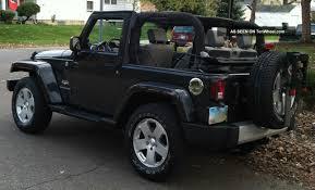 jeep wrangler 2 door hardtop black 2010 jeep wrangler sahara hard soft top hitch bike rack