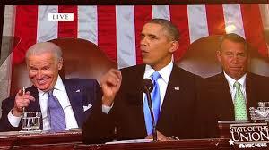 State Of The Union Meme - joe biden s creepy smile during obama s state of the union address