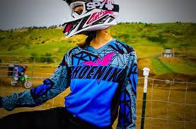 motocross gear nancy maxwell owner of women s motocross gear brand phoenix