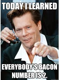 Bacon Memes - tricky kevin bacon memes quickmeme