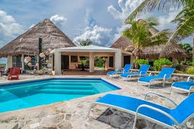 Akumal Mexico Map by Akumal Rental Homes Casa Alux Oceanfront Rental House Mexico