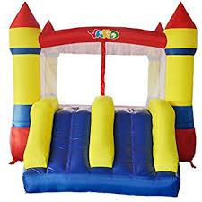 black friday bounce house amazon com bounceland castle w hoop inflatable bounce house