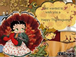 betty boop wishes you a happy thanksgiving picture 102221045