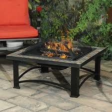 Firepit Patio Table by Fire Pits You U0027ll Love Wayfair