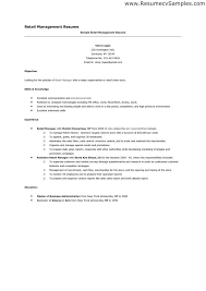 28 Resume Samples For Sample by Resume Samples For Retail Jobs Retail Example Resume Resume