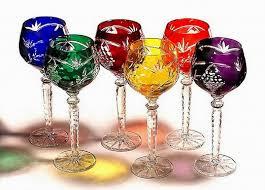 Cobalt Blue Crystal Vase Crystal Gifts Colored Crystal Wine Goblets Stemware Vases