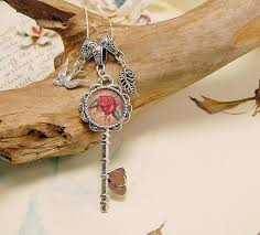 rose key necklace images Key charm necklaces deanna davoli jpg