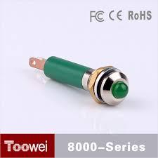 24vdc led indicator light toowei factory supply waterproof ip67 small 24vdc led indicator