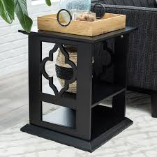 Quatrefoil Side Table Belham Living Quatrefoil Side Table Hayneedle
