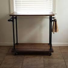 industrial furniture etsy industrial kitchen cart bar serving